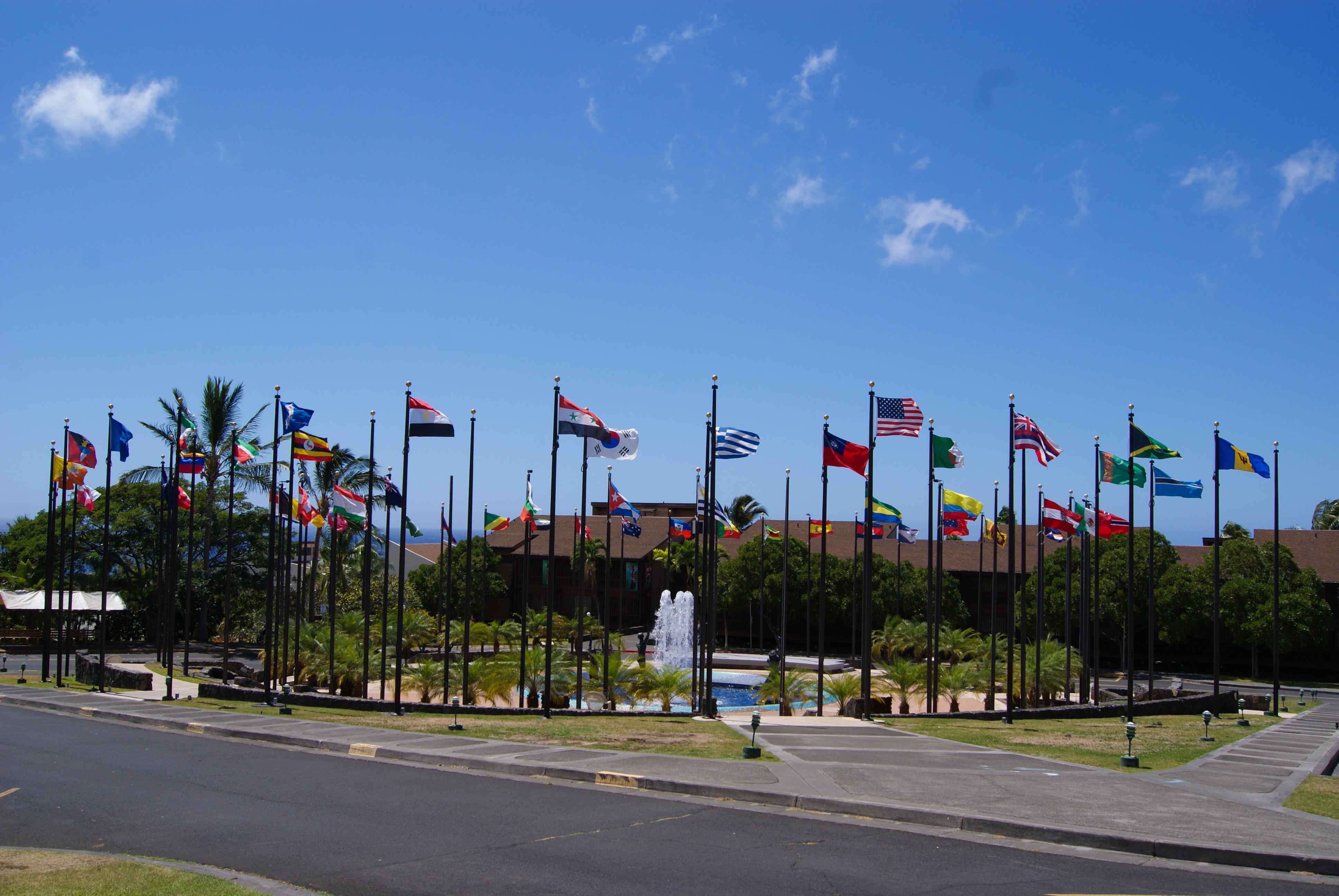 YWAM Kona - Flags