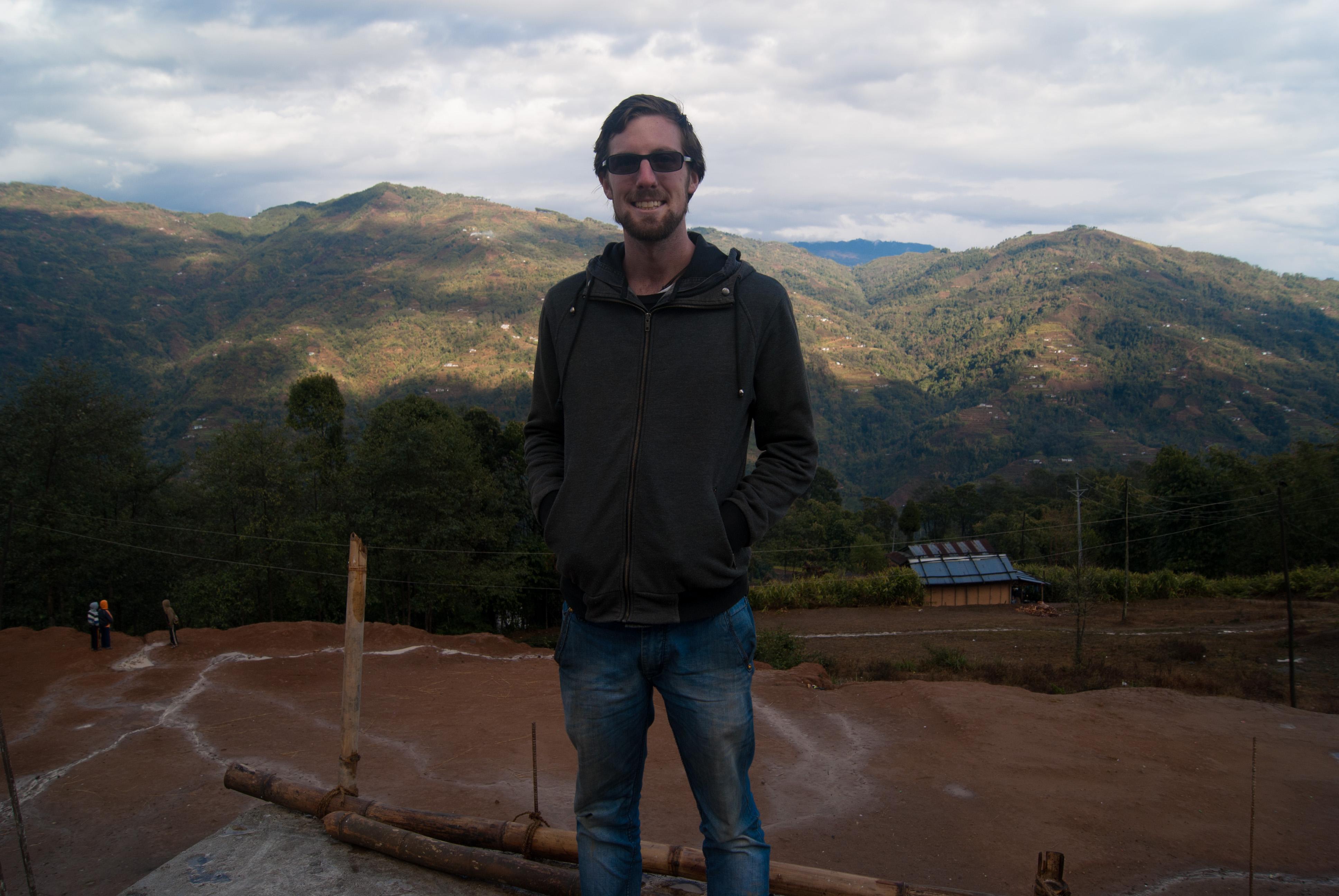 Me in Nepaltar, Nepal